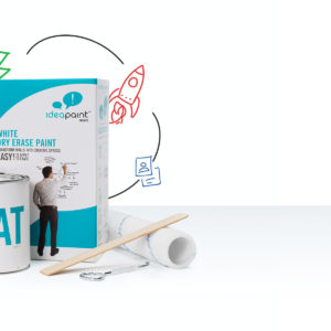 Create WHITE - dry-erase paint - CREATE White Sample - CREATE White 50 sq ft - CREATE White 100 sq ft - CREATE White 200 sq ft